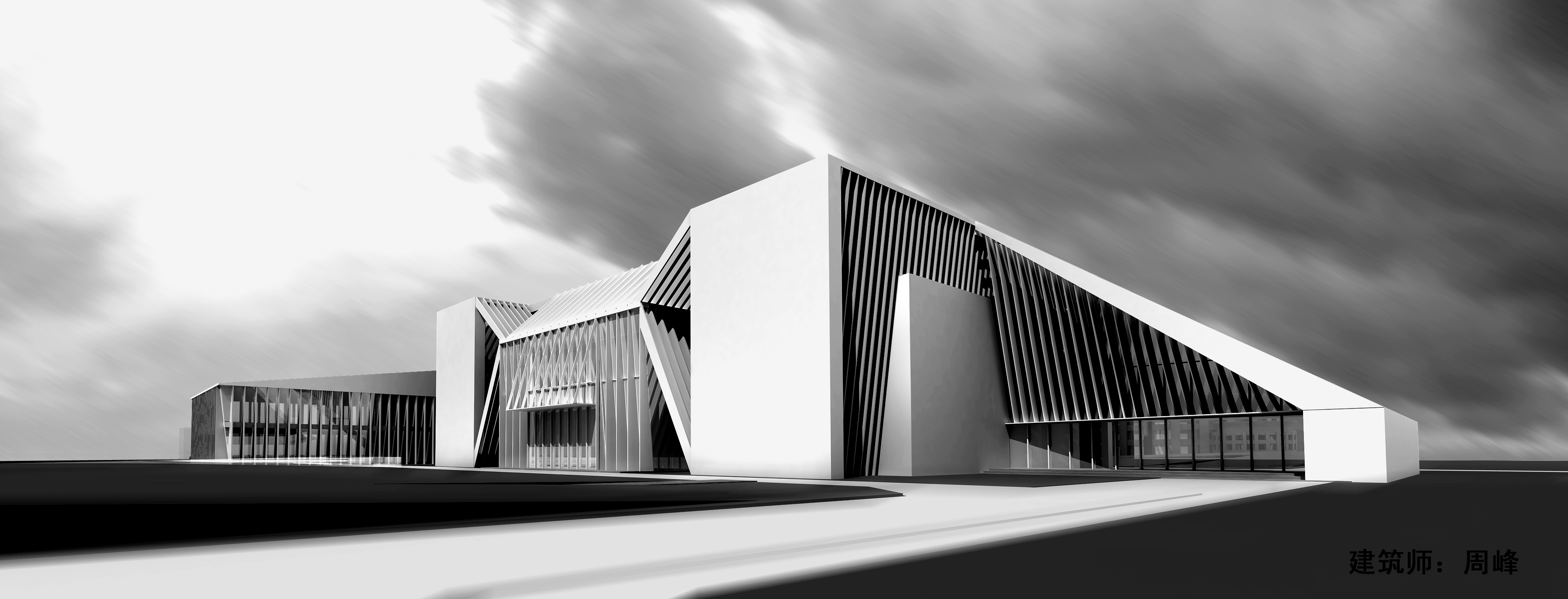 Ambitious plans for the new wall art museum in beijing for Museum designers