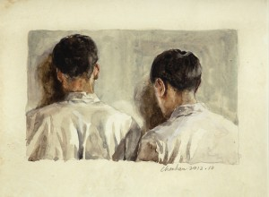 Chen Han_Plotting Against A Sad Punishment(Watercolour)_2012